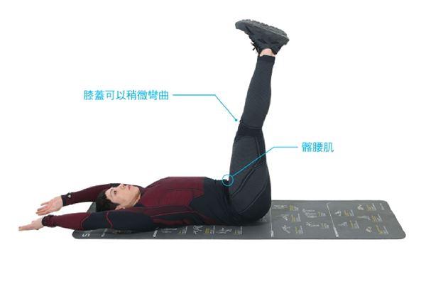 平躺抬腿3。(圖片提供/橙實文化)