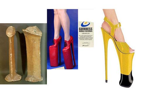 時的高跟鞋,金氏世界紀錄中最高的高跟鞋,由Lady ...