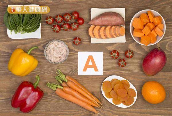 維生素A有助於抗氧化作用的進行,可增進免疫力。
